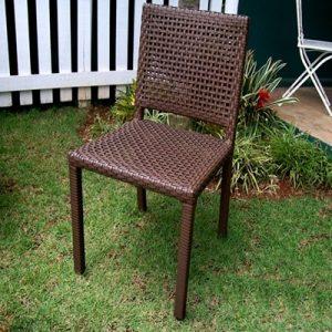 cadeira em aluminio e fibra sintetica para varanda gourmet