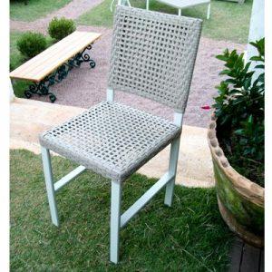cadeira em fibra sintetica para varanda gourmet