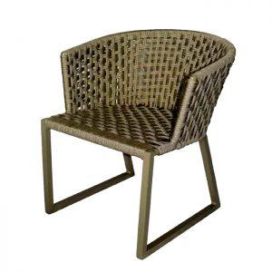 cadeira em corda nautica para varanda gourmet e area externa