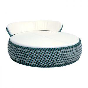 chaise em aluminio e trama em fibra sintetica para varana gourmet e area externa