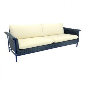 sofa com trama especial em fibra sintetica