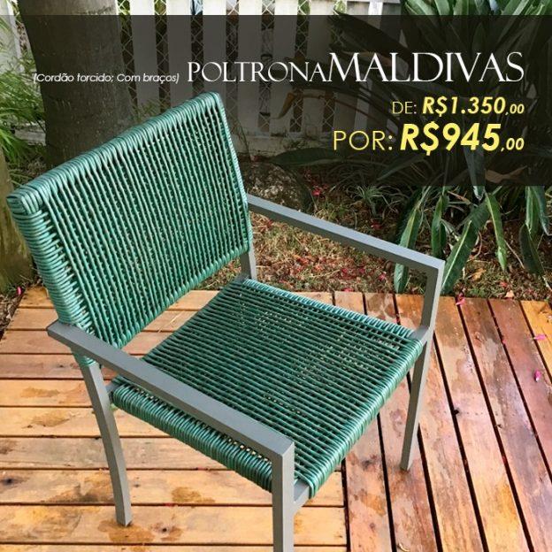 Cadeira Maldivas trama cordão fibra sintetica para área externa Valinhos, Campinas, Vinhedo, Jundiai, Itatiba