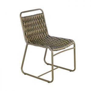 Cadeira trico sintetico para Varanda Gourmet.