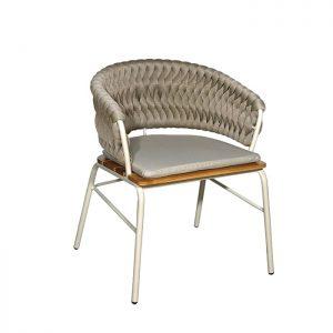 cadeira em trico sintetico para varanda gourmet
