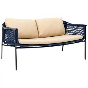 sofa nautre corda nautica para varanda gourmet
