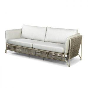 sofa em aluminio e corda nautica