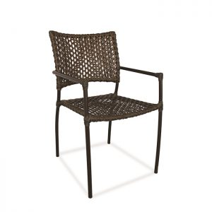Cadeira Anitta fibra sintetica para area externa e piscina