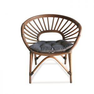 Cadeira Argélia ´- Estrutura em rottin fibra natural