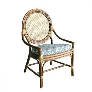 cadeira ferrara em fibra natural para varanda gourmet e area interna
