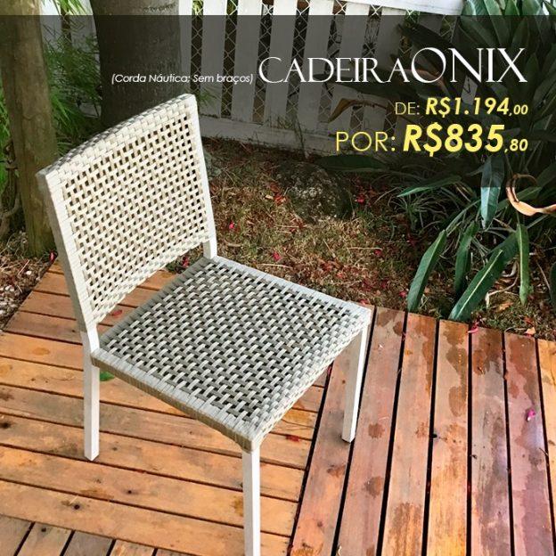Cadeira Onix corda nautica area externa Campinas, Valinhos, Vinhedo, Itatiba, Alphaville