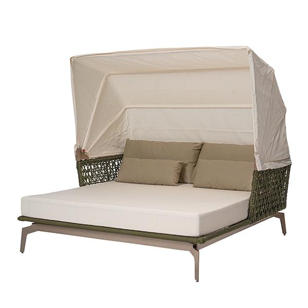 chaise em corda nautica para area externa e varanda gourmet