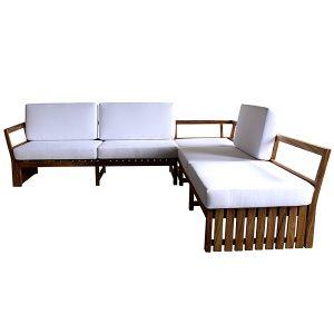 sofa em modulo para varanda gourmet e area externa