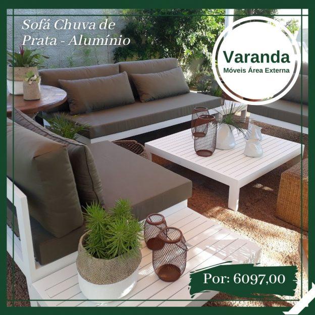 sofa e moveis para area externa