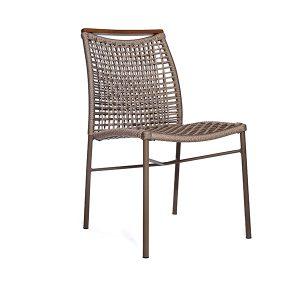 cadeira em corda nautica para area externa