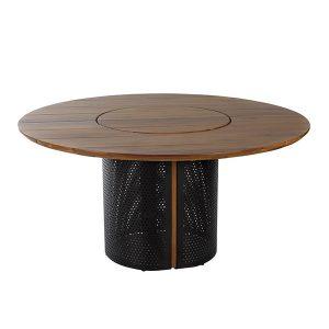 mesa de design para área externa