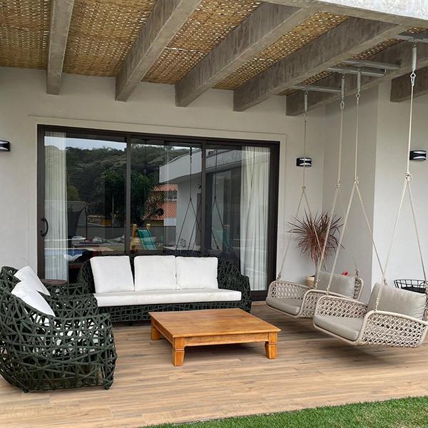 sofas e poltronas para area externa e varanda gourmet